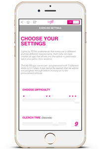 pelvic floor exercise apps - My pff