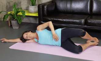 Exercises for after a Caesarean led by a specialist physiotherapist