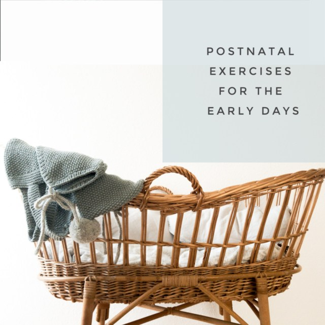 exercises for the early days
