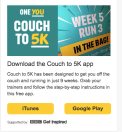 picture of couch to 5km app