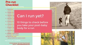 Can I run yet? Advice, videos and checks by specialist physio Amanda Savage