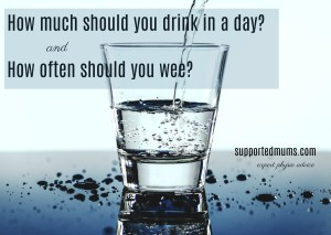 How much should you drink in a day?