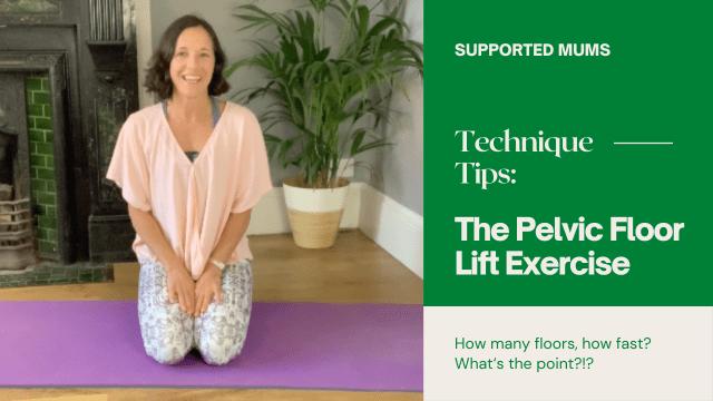 pelvic floor lift exercise
