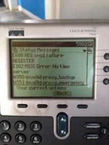 Cisco 8851 Not Registering