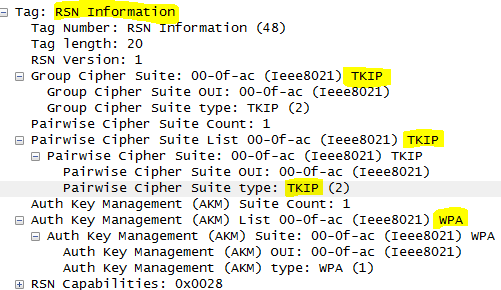 WPA and WPA2 - both using TKIP and AES?... - Cisco Support Community