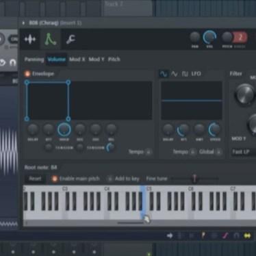 fl studio changing root note