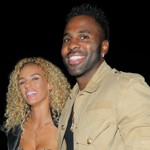 jason derulo and his wife Jena Frumes