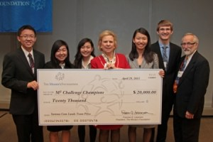 The 2013 M3 Challenge winners are from Plymouth, Minnesota, and were awarded $20,000.