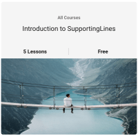 Screenshot of SupportingLines Cloud Introduction Course