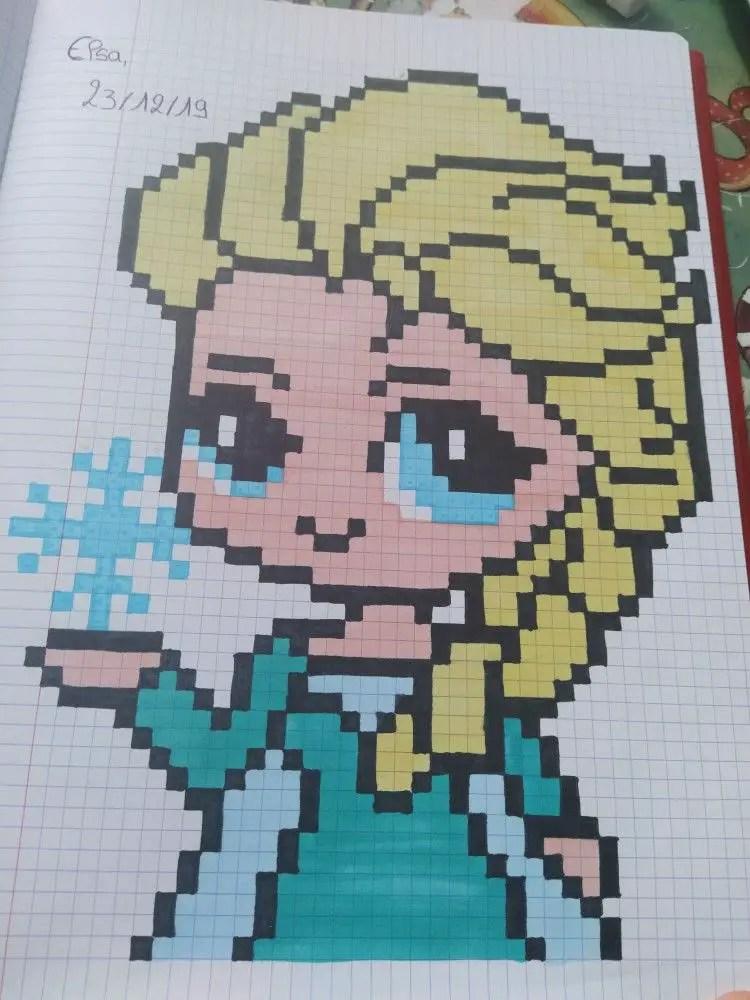 Pixel Art La Reine Des Neiges : pixel, reine, neiges, Reine, Neiges, Designs, Inspirer, Images