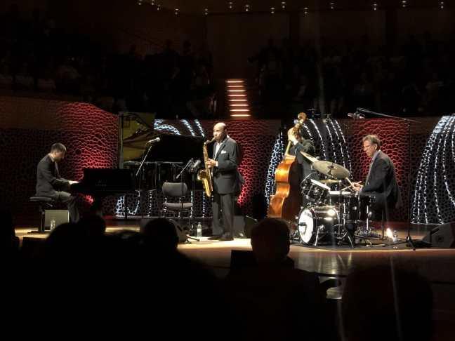 Benny Golson mit seinem Quartett in der Elbphilharmonie