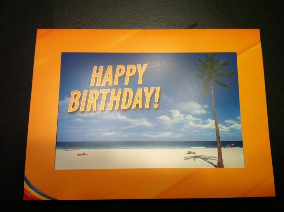Southwest Birthday Card