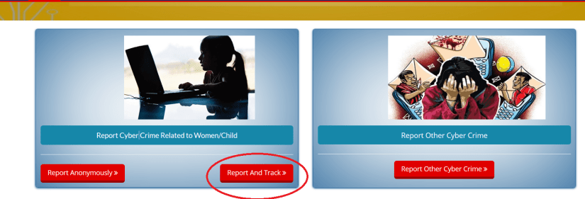 Report Cyber Crime Related to Women/Child