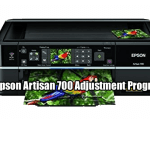 Epson Artisan 700 Adjustment Program