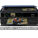 Epson Artisan 720 printer Adjustment Program