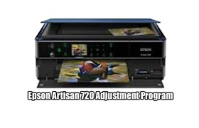 Epson Artisan 720 Adjustment Program