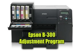 Epson B-510DN Adjustment Program