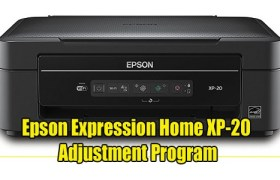 Epson Expression Home XP-20 Adjustment Program ( Resetter )