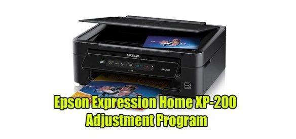 Epson Expression Home XP-200 Adjustment Program ( Resetter )