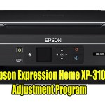 Epson Expression Home XP-310 Resetter