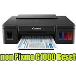 Canon Pixma G1000 Resetter With Tutorial