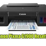 Canon Pixma G1900 Resetter With Tutorial