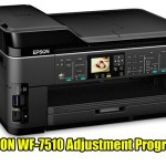 Epson WorkForce WF-7510 Adjustment Program