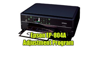 Epson EP-803A Resetter
