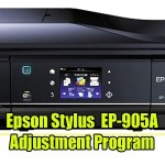 Epson EP-905A Resetter