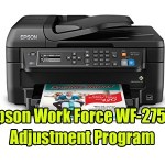 Epson Work Force WF-2750 Adjustment Program