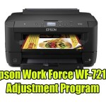 Epson Work Force WF-7210 Adjustment Program