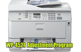 Epson WorkForce Pro WP-4521 Adjustment Program