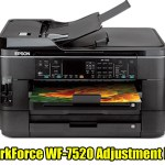 Epson WorkForce WF-7520 Adjustment Program