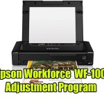 Epson Workforce WF-100 Adjustment Program