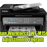 Epson Work force WF-M1560 Adjustment Program