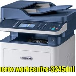 Xerox Workcentre 3345DNi A4 Mono Multifunction Laser Printer