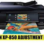 Epson Expression Photo XP-850 Resetter