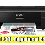 Epson L301 Adjustment Program ( Resetter )