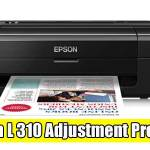 Epson L310 Adjustment Program ( Resetter )