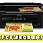 Epson L350 Adjustment Program ( Resetter )