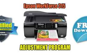 Epson WorkForce 315 Adjustment Program