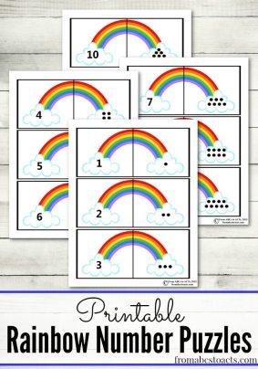 Rainbow-Puzzles