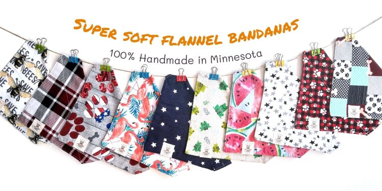 Super soft Flannel bandanas (4)