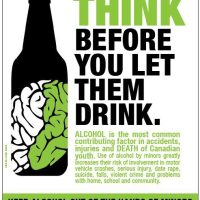 Think Before You Let Them Drink