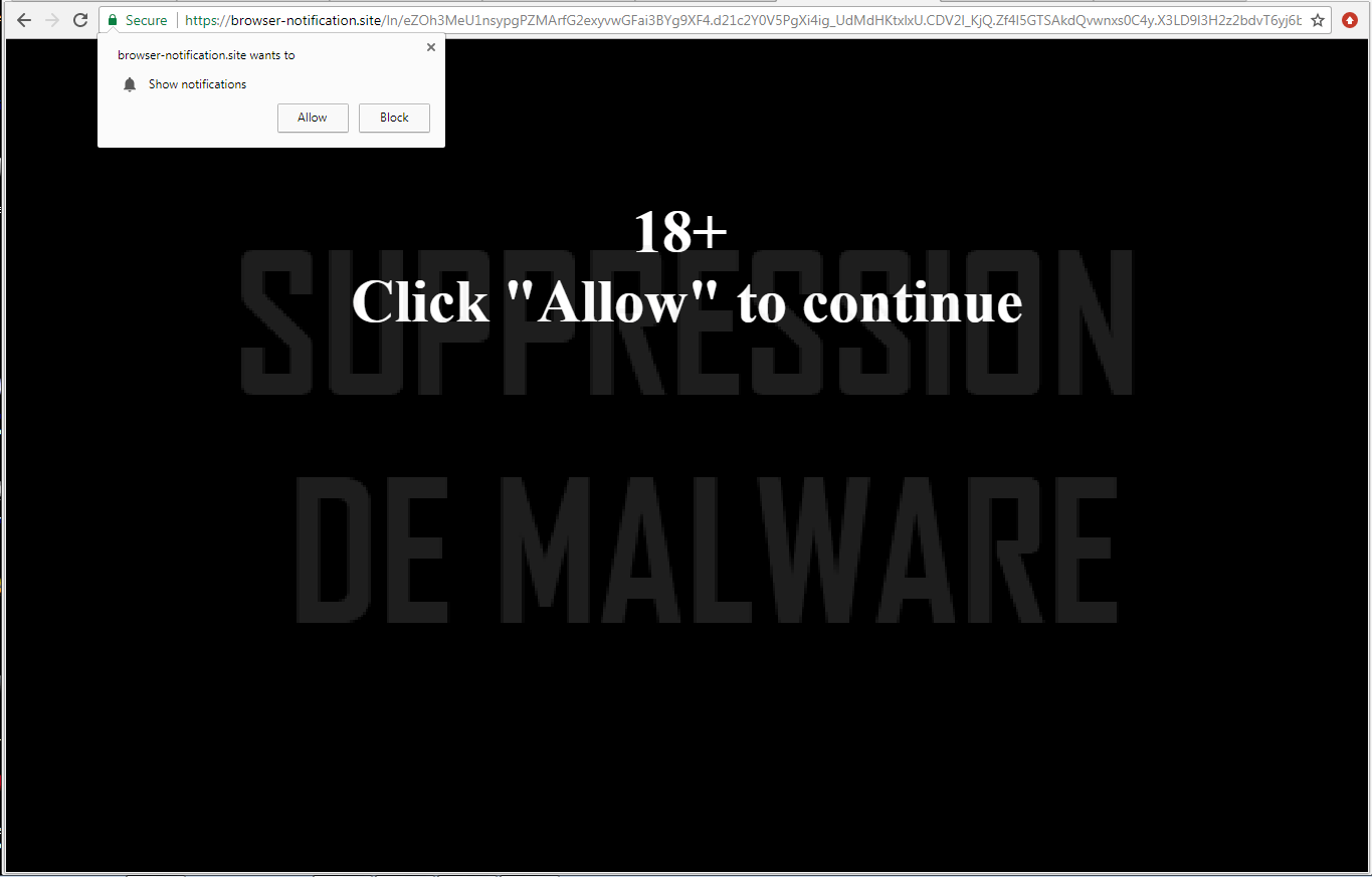 Browser-notification.site virus