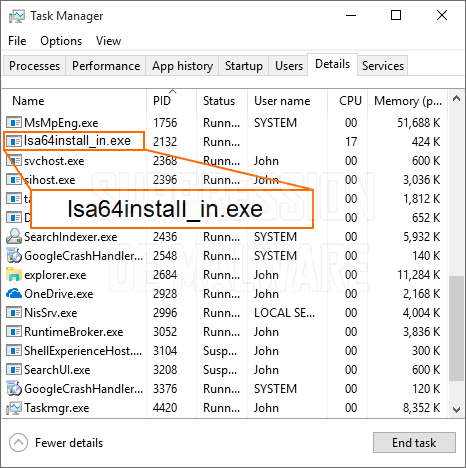 Lsa64install_in.exe virus
