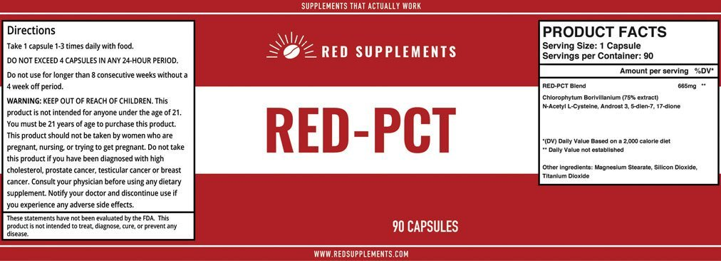 red pct instructions