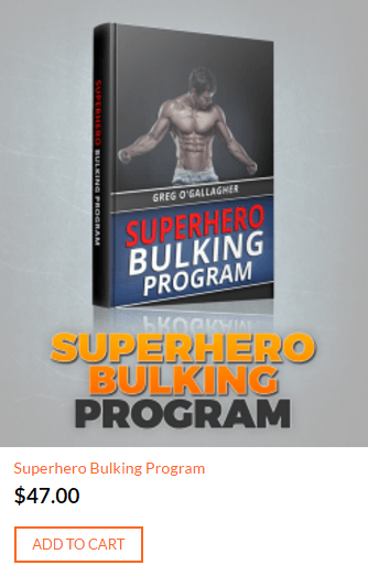 kinobody superhero bulking program