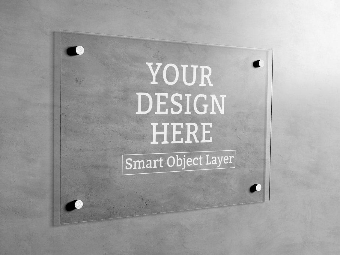 Drucken auf Plexiglasplatten