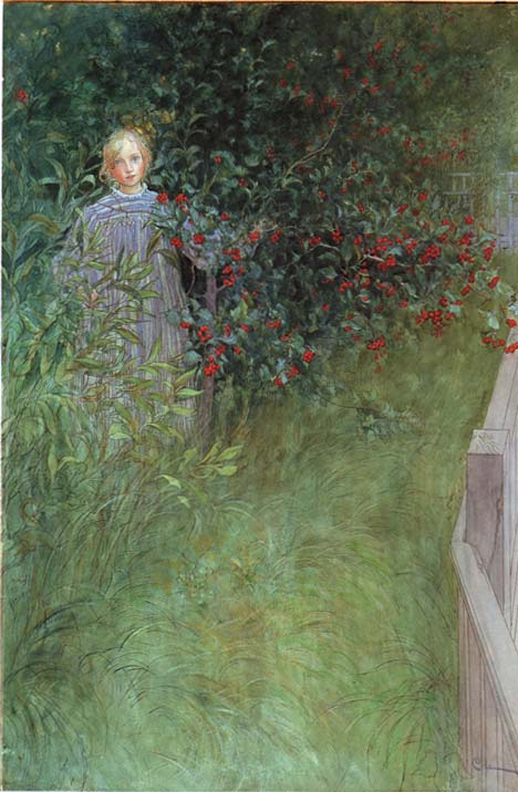 Carl Larsson - In The Hawthorn
